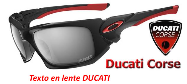 Oakley Scalpel DUCATI Polished Black / Black Iridium (OO9095-14)