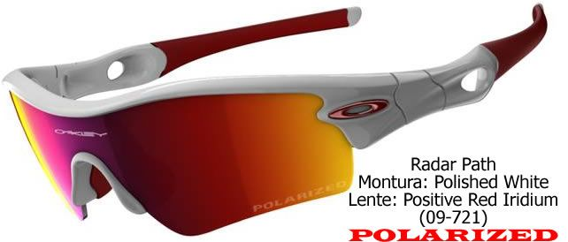 Oakley Radar Red Iridium Lenses